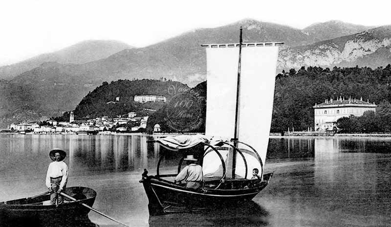 Bellagio lago di Como 1903 G fotovasconi lucia