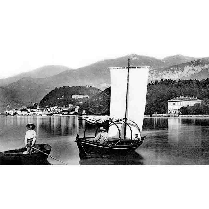 Bellagio lago di Como 1903 P fotovasconi lucia