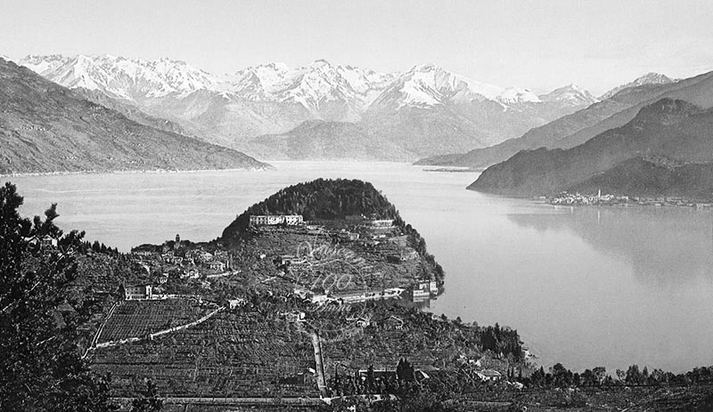 Bellagio lago di Como 1910 fotovasconi  G