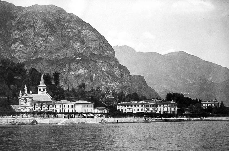 Cadenabbia GG lago di Como fotografia ANGLICAN CHURCH OF ASCENSION 1900 2