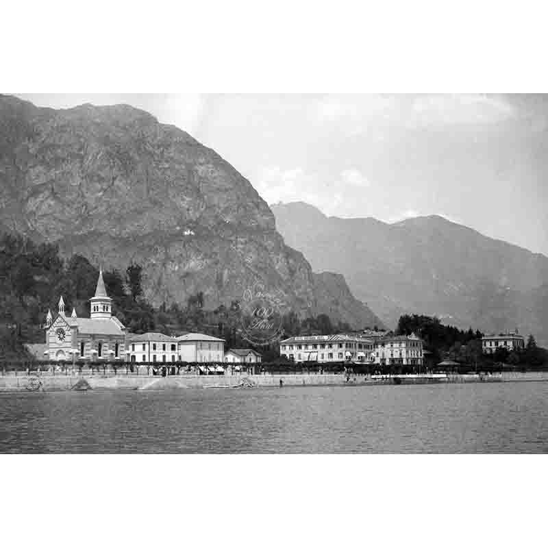 Cadenabbia P lago di Como fotografia ANGLICAN CHURCH OF ASCENSION 1900
