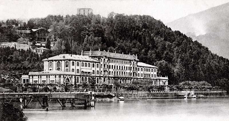 Hotel grand bretagne bellagio lago di como 1900