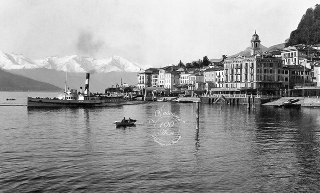 bellagio lago Como 1930 G fotovasconi battello 2