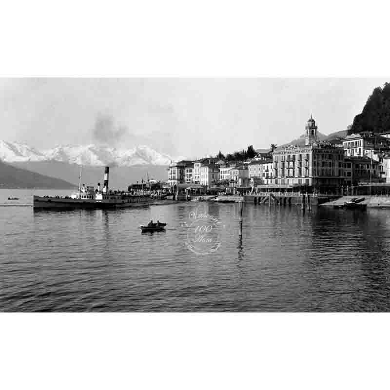 bellagio lago Como 1930 P fotovasconi battello