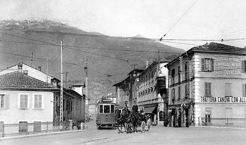 Como via Tolomeo Gallio fotovasconi G 1910